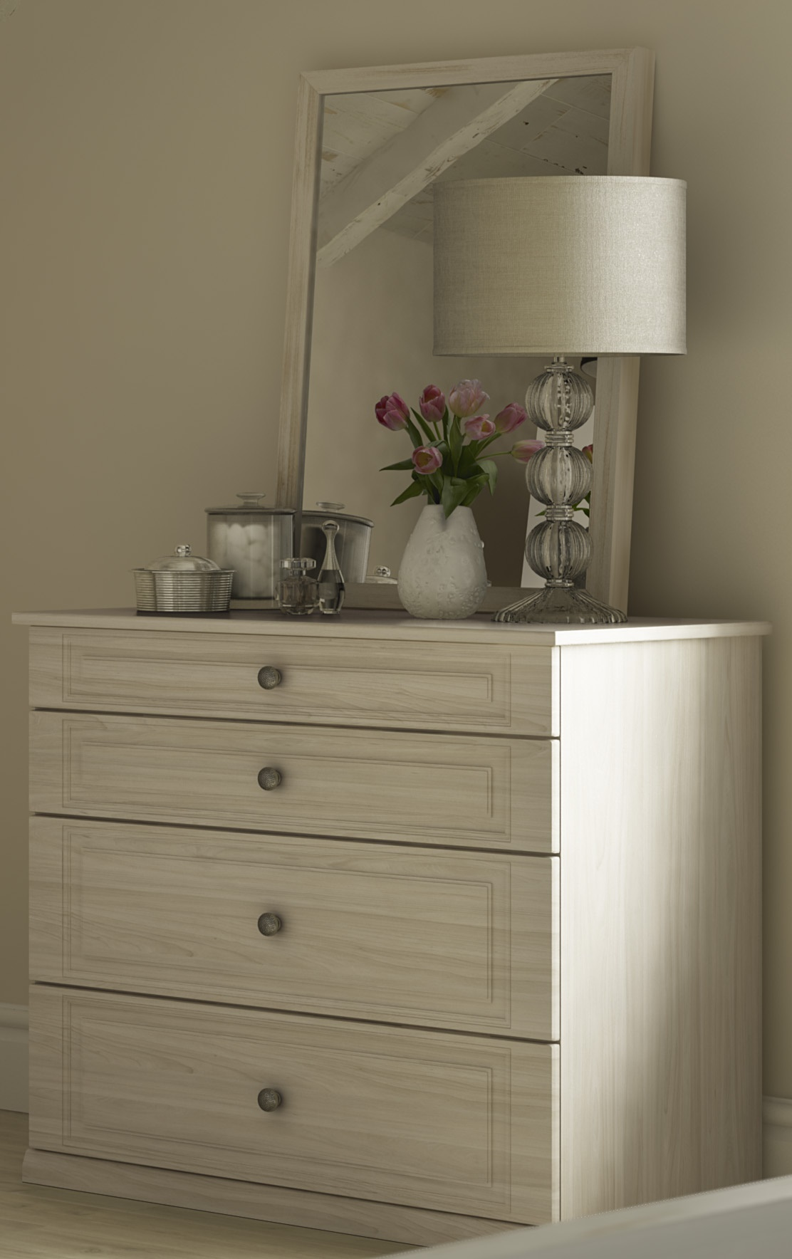 Free Standing - Balmoral 2 plus 2 drawer