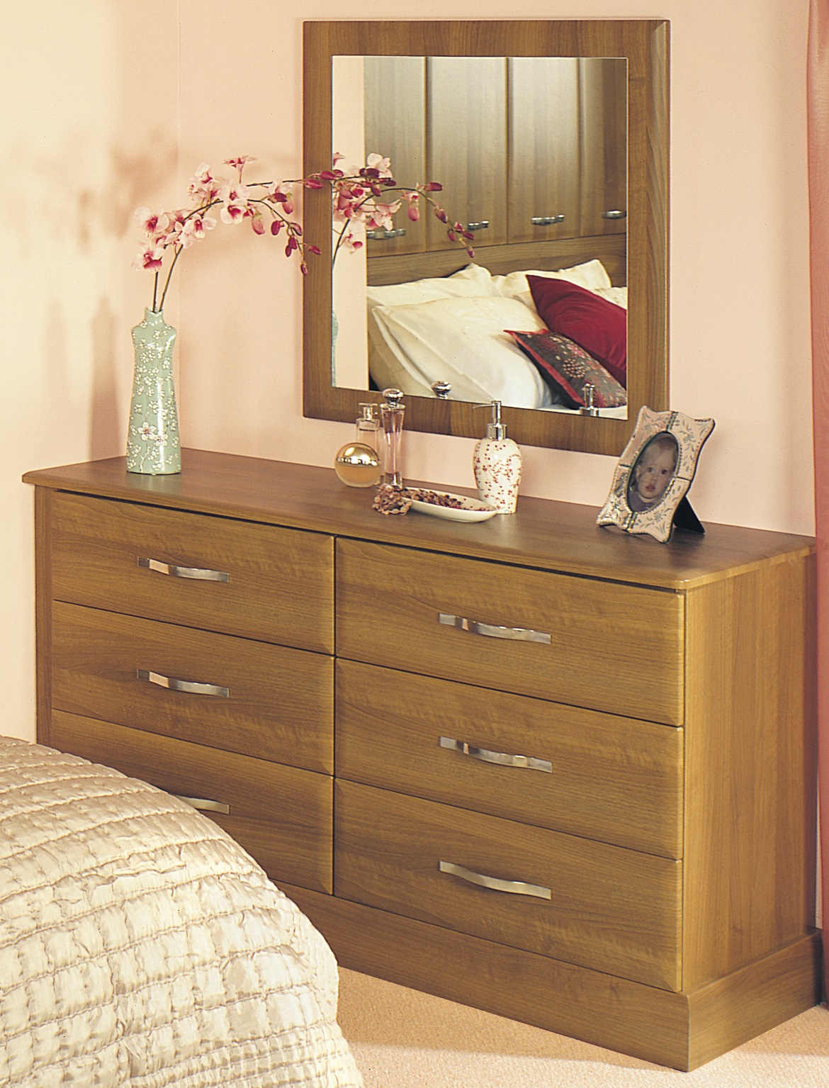 Free Standing - Geneva Double Drawer